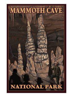 Mammoth Cave Nat'l Park poster