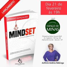 21/02 ♥ Andréa de Nóbrega recebe Adriano Gonçalves para o Lançamento de seu livro MINDSET ♥ SP ♥  http://paulabarrozo.blogspot.com.br/2017/02/2102-andrea-de-nobrega-recebe-adriano.html