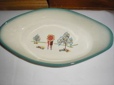 forever yours, au gratin dish, Brock of California... from the 50's