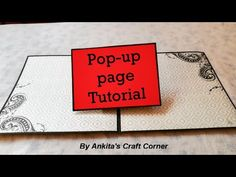 Pop-up Album - How to create pop-up page Ideas Scrapbook, Mini Scrapbook Albums, Scrapbook Pages, Cards Diy, Paper Cards, Arte Pop Up, Tarjetas Pop Up, Diy Organisation, Interactive Cards