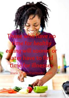 Black woman Healthy eating motivational pictures