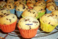 Das perfekte Backen: Stracciatella-Mini-Muffins-Rezept mit einfacher Schritt-für-Schritt-Anleitung: Aller Zutaten (bis auf die Schokolade) in einen… Food N, Food And Drink, Mini Cupcakes, Nutella, Frosting, Snacks, Baking, Breakfast, Recipes