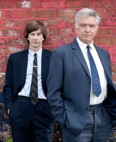 """Lee Ingleby and Martin Shaw in """"Inspector George Gently"""""""