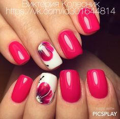 What Christmas manicure to choose for a festive mood - My Nails Fancy Nails, Cute Nails, Pretty Nails, Glam Nails, Glitter Nails, Colorful Nail Designs, Nail Art Designs, Nail Manicure, Diy Nails