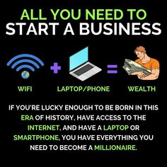 Ever wonder how so many people make money online? Well this article will show you some of the most effective methods out there! Entrepreneur Motivation, Online Entrepreneur, Entrepreneur Quotes, Millionaire Lifestyle, Business Opportunities, Business Tips, Way To Make Money, Make Money Online, Online Digital Marketing