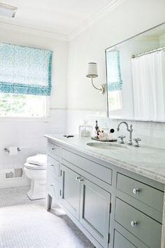 master shower vanity Stern Turner Home - traditional - bathroom - atlanta - Erica George Dines Photography