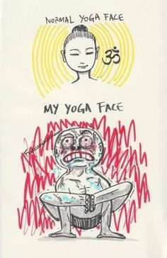 DownDog Funnies: My yoga face… From the Downdog Diary Yoga Blog found exclusively at DownDog Boutique. DownDog Diary brings together yoga stories from around the web on Yoga Lifestyle... Read more at DownDog Diary