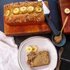 Add some peanut butter for an easy breakfast! Low Fat Banana Bread