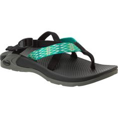 Green chaco flip flop
