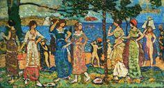Maurice Prendergast - Women at Seashore