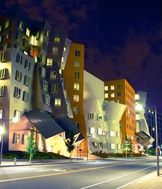 Frank Gehry's Stata Center, MIT The Massachusetts Institute of Technology