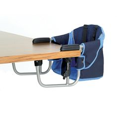 Zooper Hook-On Chair Navy Blue $49