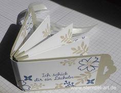 Minialbum nach StempelART, Stampin up, bebilderte Anleitung Tutorial, Für…