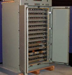 "Found this pic of one of the SLOW Univac computers I worked on in the 60s-70s - a photo buried on an unrelated site ( http://ed-thelen.org/comp-hist/visible-storage.html ). There are hundreds of tiny circuit boards plugged into it. Designed before integrated circuits, it was all discrete components. It ran so hot it had to be cooled with chilled water. It had ""core memory"": toroids - tiny magnetic rings with minuscule wires running through them (laboriously hand assembled under microscopes.)"