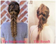 Making the Braid: A Rookie Attempt at Pinterest Hair with this how-to guide! #thelocallifestyle