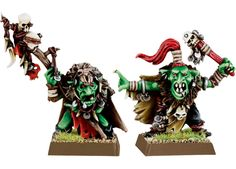 Night Goblin Shaman for the Warhammer game by Games Workshop.