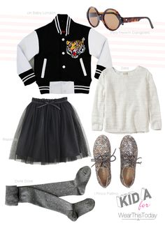 a varsity jacket done the ''girly'' way