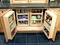 Maximize your pantry storage by taking advantage of every nook & cranny. From the experts at HGTV.com.