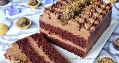Ak máte radi čokoládové zákusky minimálne tak ako ja, tak tieto rezy vám zaručene odporúčam všetkými desiatimi. Plnka mi svojou ľahkosťo... Czech Desserts, Desert Recipes, Nutella, Chocolate Cake, Tiramisu, Cake Recipes, Deserts, Food And Drink, Sweets