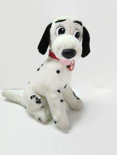 Vintage Disney Pongo 101 Dalmatians Mattel Plush Stuffed Animal 1991 on Etsy, $14.00