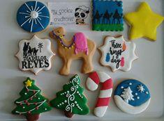Surtido de #reyesmagos Que no muera la tradicion #threekingsdaycookies #threekingscookies #christmascookies #christmas  #mycookiecreations #cookies