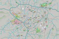 Mapa revela rios canalizados de São Paulo