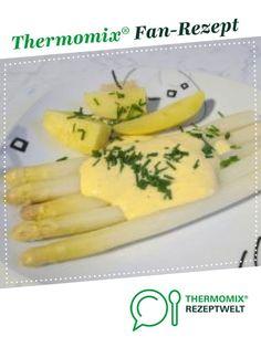 Zitronen-Zabaione (Spargelsoße WW-tauglich) von klappan. Ein Thermomix ® Rezept aus der Kategorie Saucen/Dips/Brotaufstriche auf www.rezeptwelt.de, der Thermomix ® Community.