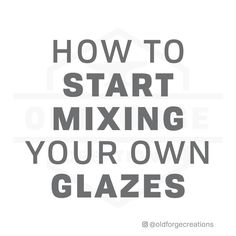 """Joe Thompson (@oldforgecreations) posted on Instagram: """"How to get started with making your own glazes. This is a condensed version of my blog post, which I'll link in my stories. The basic idea…"""" • Sep 24, 2021 at 4:11pm UTC Ceramic Supplies, Make Your Own, Ceramics, Link, Blog, Instagram, Ceramica, Pottery, Blogging"""