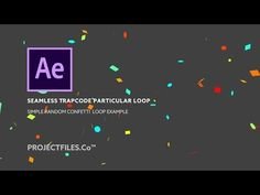 How to Make Confetti in AE [with no plugins!] | After Effects Tutorial - YouTube