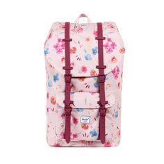 """[""""Ruby Khaki"""" Little America Backpack by Herschel]"""