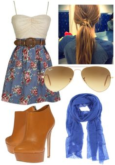 """""""Farmer Girl"""" by alexperisin ❤ liked on Polyvore"""