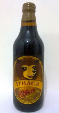 Cerveja Colorado Ithaca Oak Aged, estilo Russian Imperial Stout, produzida por Cervejaria Colorado, Brasil. 10.5% ABV de álcool.