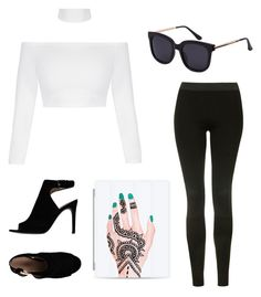 """""""sassy"""" by estankus1 on Polyvore featuring Topshop, Tory Burch and Casetify"""