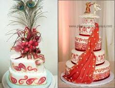 Image result for indian themed wedding cakes