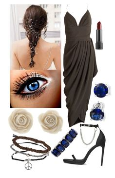 """""""Prom Freddy Fazbear (Fashion Fnaf)"""" by thefnaftheorists ❤ liked on Polyvore featuring Topshop, Norell, Yves Saint Laurent, Bling Jewelry and Monet"""