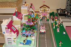 LEGO Friends Inspire Girls Globally: Girl builds & re-builds Heartlake City!