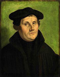 Retrato de Martín Lutero ~ Georg Pencz (1533)