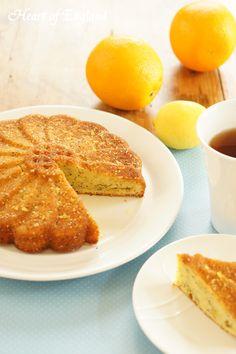 Orange&blue poppyseed cake オレンジ&ブルーポピーシードケーキ