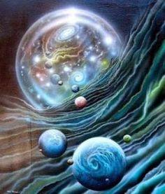 Não existem leis físicas que proibiria a existência de mundos paralelos.