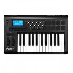 The first thing most bedroom producers need to invest in when setting up a small home studio, is a MIDI keyboard/controller they can use to play melodies and control software parameters. The M-Audio Axiom 25 is perfect for this; it features 25 semi-weighted keys for a pleasing playing experience, 8 trigger pads to tap your beats on plus 8 assignable knobs and some buttons for controlling your DAW and virtual instrument parameters. This all looks good on paper but how does it perform?