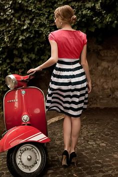 Gondola Dress Red | Roamin Holiday Collection by Shabby Apple