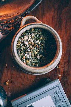 Autumnal Lucid Dreaming Tea | Ginger Tonic Botanicals