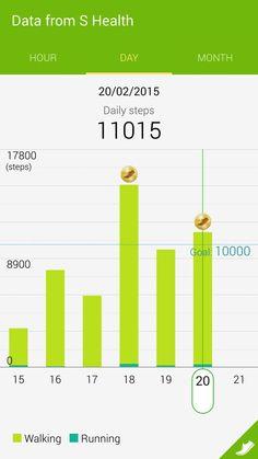 11015 steps pedometer