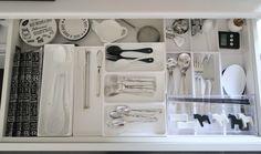 【キッチン】カトラリーの整理収納~現在のバージョン | 白いお家のブログ