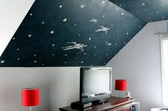 YES YES doing this for sawyer's room!  thank you carmel of our fifth house for the best inspiration ever!