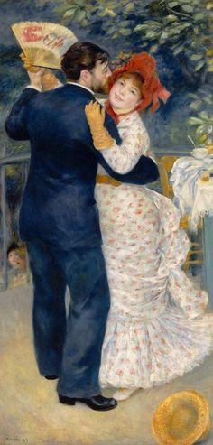 """Ballo in campagna"" 1883  Dimension: 180 x 30 cm  Musée d'Orsay, Parigi"