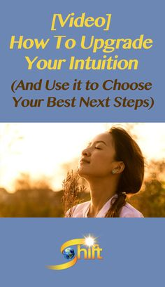 You can increase your 'connection' to your intuition so you can access it whenever you want, and receive detailed information on whatever answers you seek. Check out this video to discover the two major reasons that people become blocked from their intuition and some methods for overcoming these blocks: http://blog.theshiftnetwork.com/blog/how-upgrade-your-intuition-and-use-it-choose-your-best-next-steps?utm_source=pinterest&utm_campaign=higherguidance03&utm_medium=social