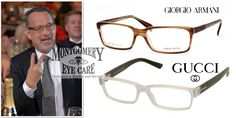 Celeb-Inspired: Tom Hanks  MEC Frames: Armani and Gucci
