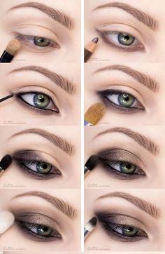 11 tips for drawing flawless eyeliner arrows – Winter MakeUp Eye Makeup Tips, Makeup Tricks, Smokey Eye Makeup, Makeup Ideas, Makeup Tutorials, Beauty Makeup, Smoky Eye, Makeup Kit, Beauty Secrets