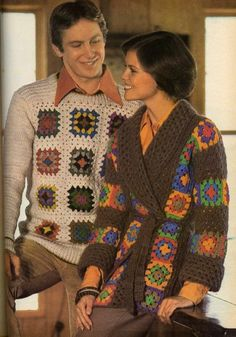 His and hers sweaters.... I'm thinking my hubby would totally dig this..... HAHA!